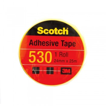 "3M Scotch 530 Tape 24mmx25m (1"" core)"