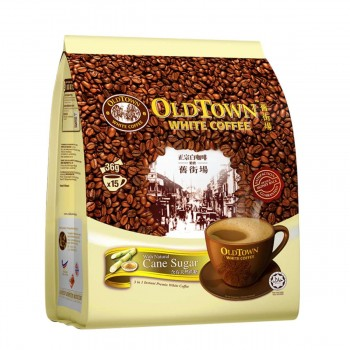 OLDTOWN White Coffee 3-in-1 Natural Cane Sugar Instant Premix (36g x 15s)