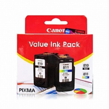 Canon PG-810 + CL-811 Value Pack Ink Cartridge