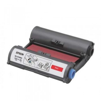 Epson RC-R1RNA LabelWorks Tape - 100mm Red Ribbon