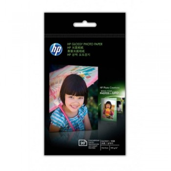 HP Photo Glossy - 4R / 20 sheets / 180g (CG851A)