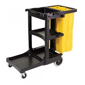 M/Fuction Janitor Cart (Down Press) JC-3