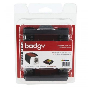 Badgy Consumable 1 Color Ribbons -  VBDG204EU Badgy 1