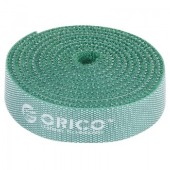 Orico CBT-1S Reusable Velcro Cable Ties 1M - Green