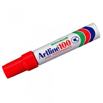 Artline 100 Giant Permanent Marker - EK-100 12mm Red