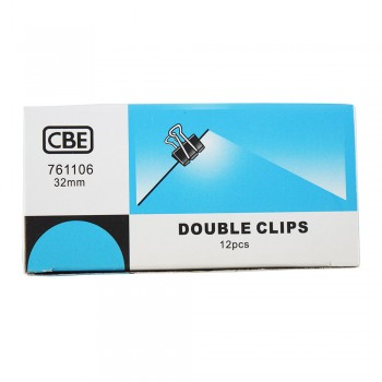 CBE 761106 32MM Double Clip 12pcs/box [220093195]