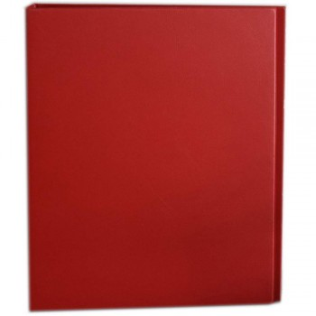 CBE 2D629 2-D 40MM PVC Ring File (A4) Red