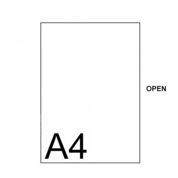 East-File Clear / Transparent - C Shape A4 Folder (Item No: B11-40 CA4) A1R1B99
