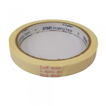 Star Masking Tape 18mm X 17yrd
