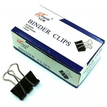 Binder Clips - 25mm, 1 dozen / box NO.80025 (Item No: B03-02 CLIP25MM) A1R1B83