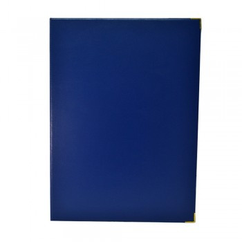1169A Certificate Holder (without sponge) - Dark Blue