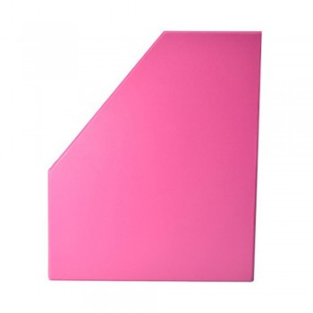 "6"" PVC Magazine Box File - Fancy Pink"