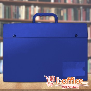 PVC Box File - EMI-C170 - Blue