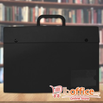 PVC Box File - EMI-C170 - Black