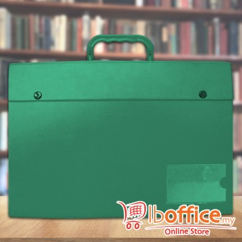 PVC Box File - EMI-C170 - Green