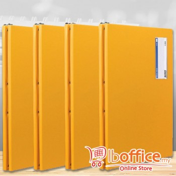 PVC Computer File - EMI-802 - A3 - 11-Inch x 15-inch - Yellow