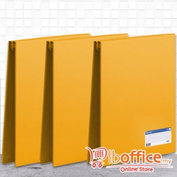 PVC Computer File - EMI-800 - A4 - 9.5-Inch x 11-Inch - Yellow