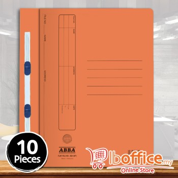 Manila Flat File - ABBA 350PM - Orange - 10pcs