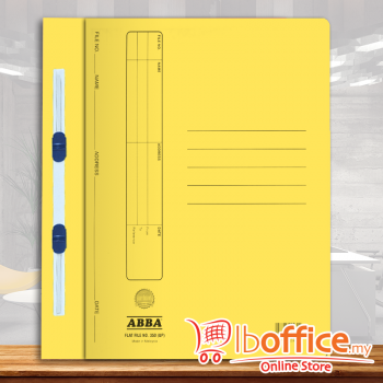 Manila Flat File - ABBA 350PM - Yellow