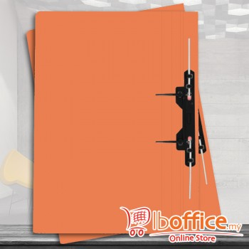 Manila Flat File - ABBA 350UP - U-Pin - Orange