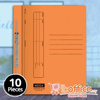 Manila Flat File - Mega 350UK - Orange - 10pcs