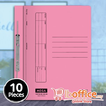 Manila Flat File - Mega 350UK - Pink - 10pcs