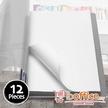 PVC Management File - EMI 807A - A4 - Grey - 12pcs
