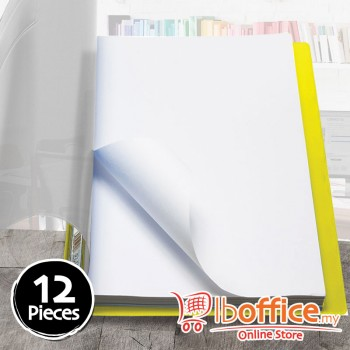PVC Management File - EMI 807A - A4 - Yellow - 12pcs