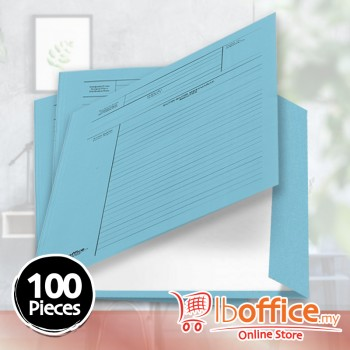Manila Minute File - LB-MC601 - 210gsm - Blue - 100pcs