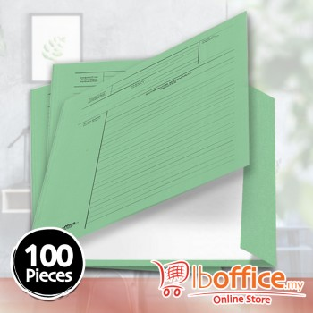 Manila Minute File - LB-MC601 - 210gsm - Green - 100pcs