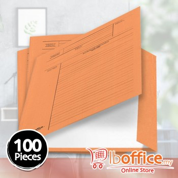 Manila Minute File - LB-MC601 - 210gsm - Orange - 100pcs