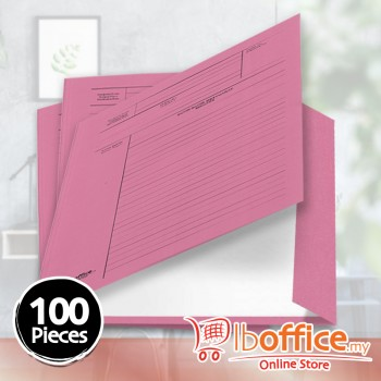 Manila Minute File - LB-MC601 - 210gsm - Pink - 100pcs