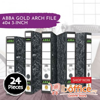 Arch File - ABBA Gold 404 - 3-Inch - 24pcs