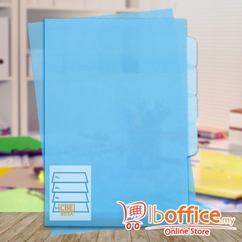 PP Document Holder - CBE 803A - A4 - Blue