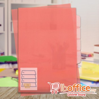PP Document Holder - CBE 803A - A4 - Pink