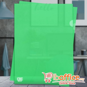 PP Document Holder - CBE 9001 - A4 - Green
