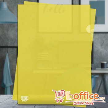 PP Document Holder - CBE 9001 - A4 - Yellow