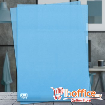 PP Document Holder - CBE 9002 - F4 - Blue