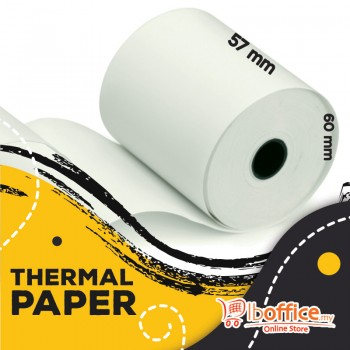 Adding Machine Roll - 57mm x 60mm(d) - Thermal Paper