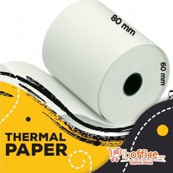 Adding Machine Roll - 80mm x 60mm(d) - Thermal Paper