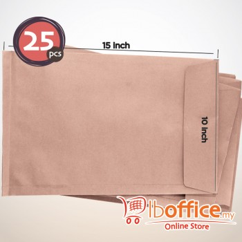 Brown Manila Envelope - 95gsm - 10-inch x 15-inch 25pcs