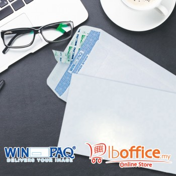 White Envelope - WinPaq 4496 - Opaque - Peel&Seal 500pcs