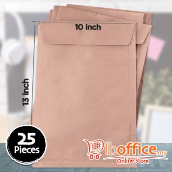 Brown Manila Envelope - 95gsm - 10-inch x 13-inch - 25pcs