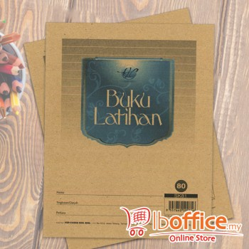 Exercise Book - Soft Cover - 80pgs