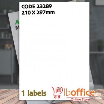 Laser Label - ABBA 23289 - 100sheets