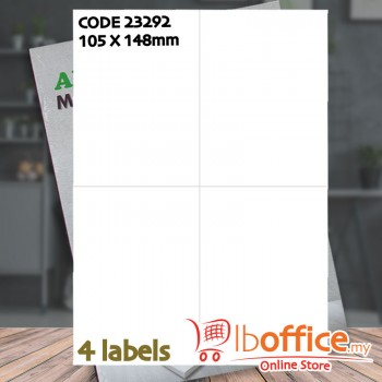 Laser Label - ABBA 23292 - 100sheets