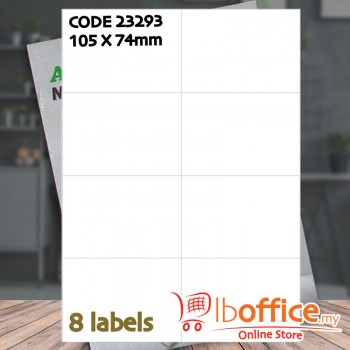 Laser Label - ABBA 23293 - 100sheets