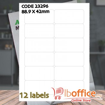 Laser Label - ABBA 23296 - 100sheets