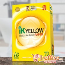IK Yellow Paper - A3 70gsm - 450sheets - 1ream