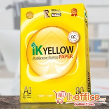 IK Yellow Paper - A3 80gsm - 450sheets - 1ream